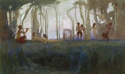 Landscape Painting by Australian Artist Sydney Long