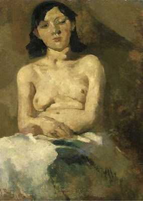 Figurative Painting by Dutch Artist George Hendrik Breitner