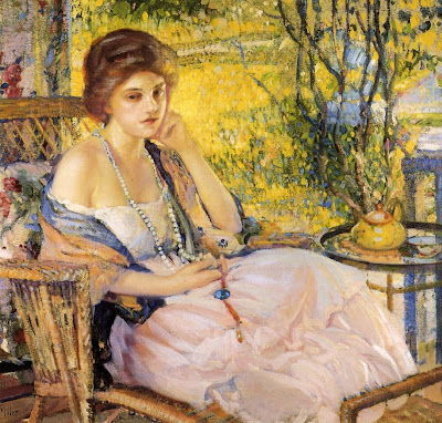 Paintings by American Impressionist Artist Richard Emil Miller