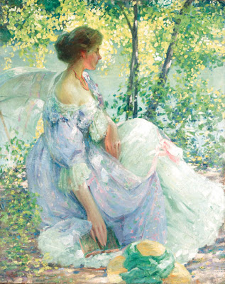 Women in Painting by American Impressionist Artist Richard Emil Miller
