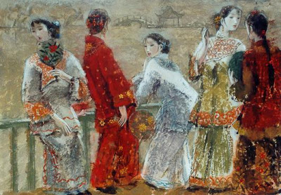 Paintings by Yihang Pan Chinese Artist