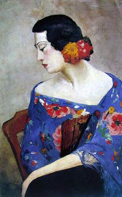 Portrait by Chinese Modern Artist Pan Yuliang