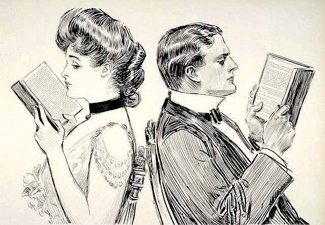 Charles Gibson. American Illustrator. The Gibson Girl