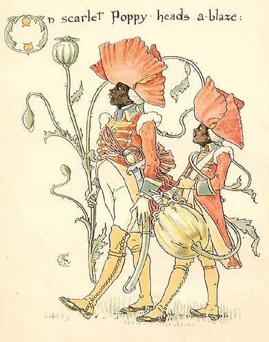 Illustration by Victorian Artist Walter Crane