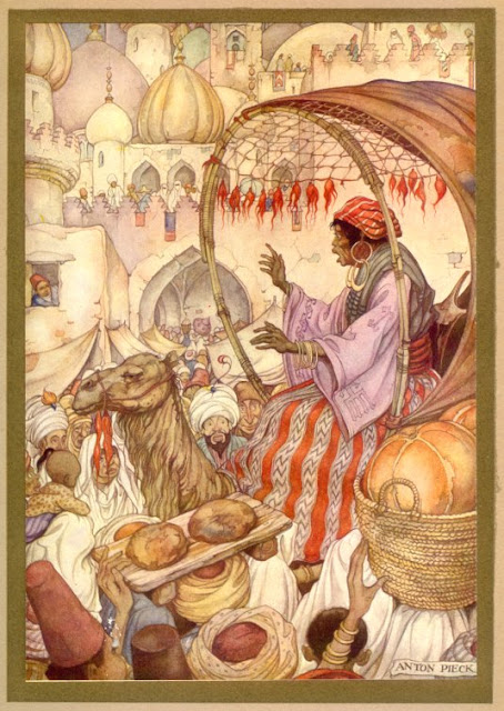 1001 Arabian Nights by Anton Pieck