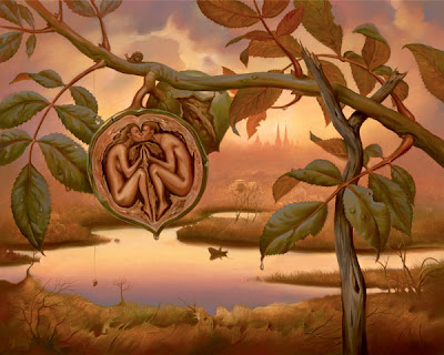 Painting by Vladimir Kush Surrealist Artist