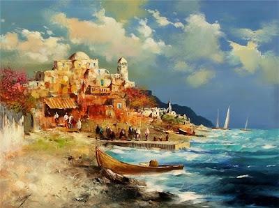 Oil Painting by Kabul Adilov
