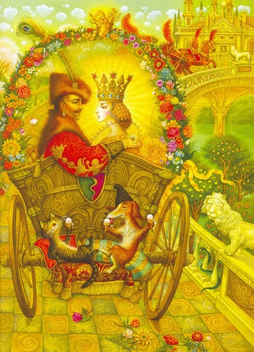 Katerina Shtanko childrens book illustration,fairy tales illustration