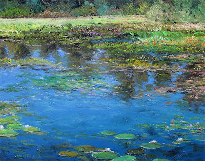 Thomas deDecker. Summer Pond
