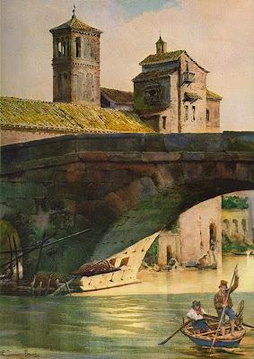 Ettore Roesler Franz. Pons Cestius