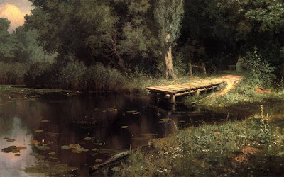 Vasily Polenov's Oil Painting