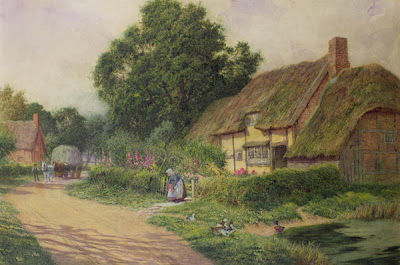 Arthur Claude Strachan. The Coming of the Haycart
