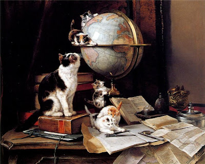Paintings by Henriette Ronner-Knip