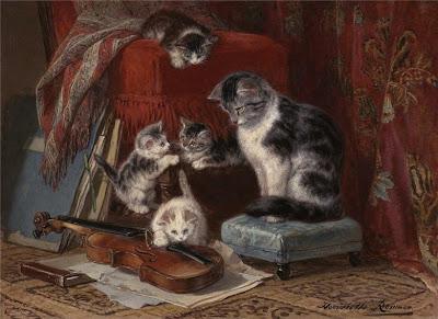 Henriette Ronner-Knip's Paintings