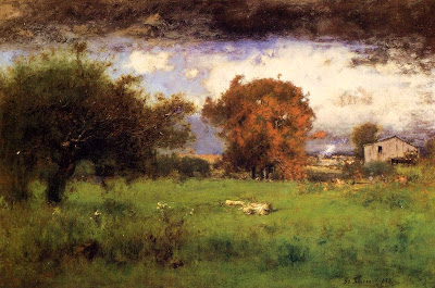 George Inness. Early Autumn, Montclair