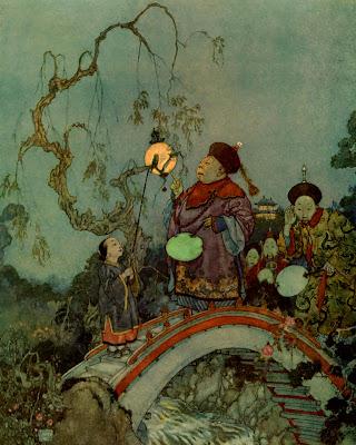 The Nightingale by Edmund Dulac