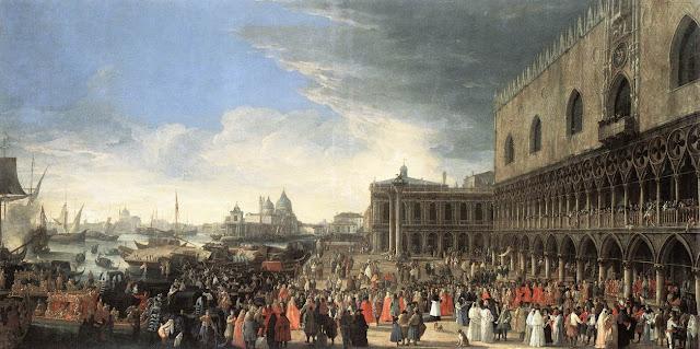 Luca Carlevaris. Paintings of Venice