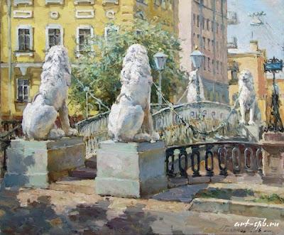 Paintings of Saint Petersburg