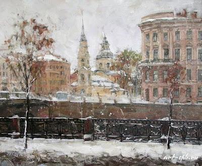 Saint Petersburg in Paintings