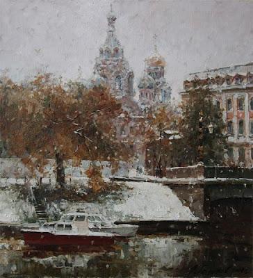Oil Paintings of Saint Petersburg