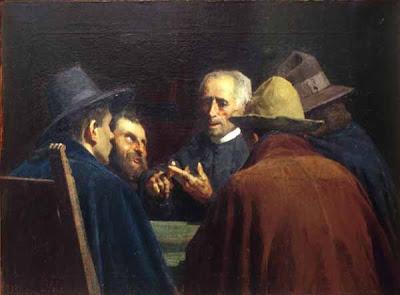 Painting by Giuseppe Pellizza da Volpedo