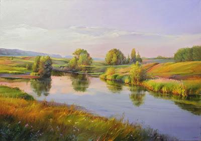 Russian Artist. Autumn Paintings