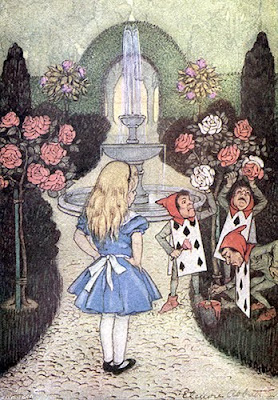 Elenore Abbott's Illustration for Alice in Wonderland