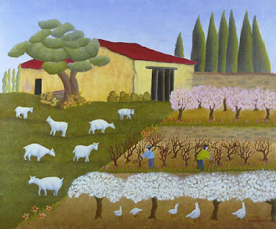 Noelle Demangeat's Paintings