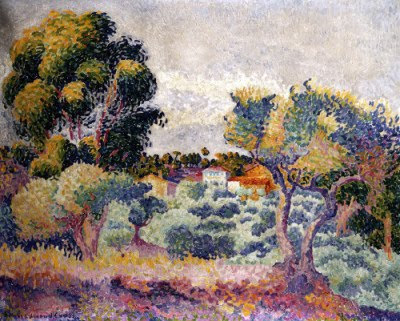 Henri Edmond Cross. Eucalyptus and Olive Grove