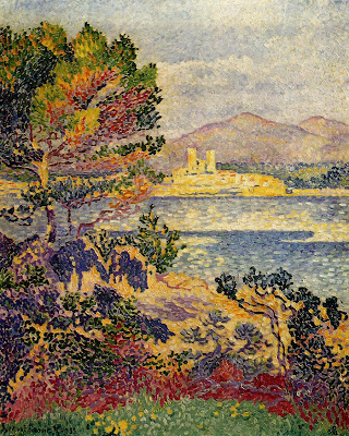 Henri Edmond Cross. Antibes, Morning, 1908
