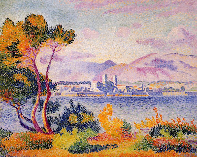 Henri Edmond Cross. Antibes, Afternoon, 1908