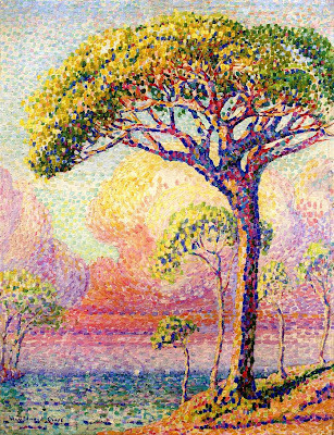 Henri Edmond Cross. A Pine Tree, 1905