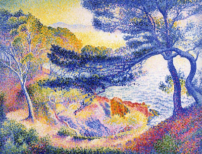 Henri Edmond Cross. Cape Layet, Provence