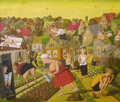 Valentin Gubarev. Vegetables and People