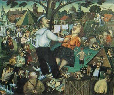 Valentin Gubarev. Belarusian Artist. Swing