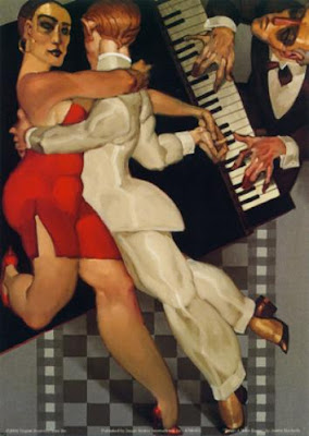 Juarez Machado. Tango in Red Dress