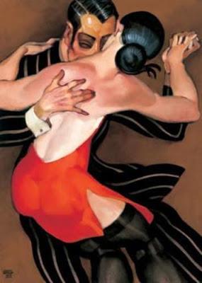 Juarez Machado. Woman in a Red Dress