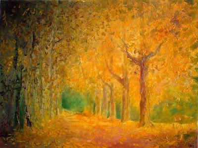 Demeter Gui. Autumn in the Park