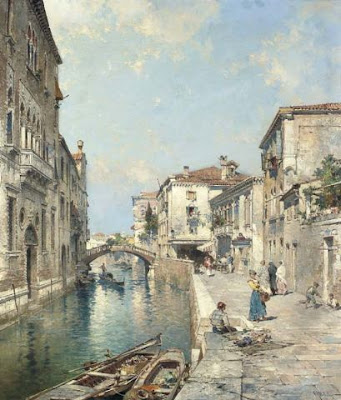 Franz Richard Unterberger. Rio Tiorado, Venice