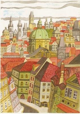 Prague Rooftops. Lawrence Martin-Bittman