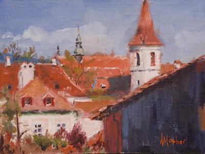 Prague Rooftops. Anita Mosher