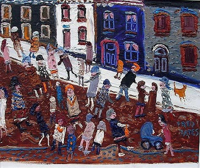 Fred Yates. A Winter's Street
