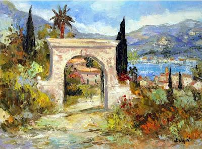 Duaiv. The Port of Saint Tropez