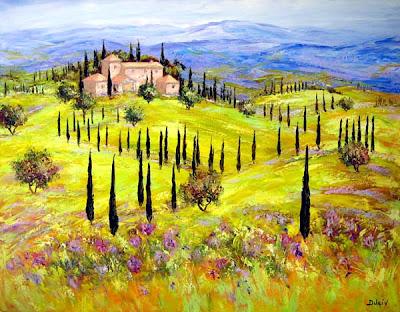 Duaiv. Hills of Tuscany