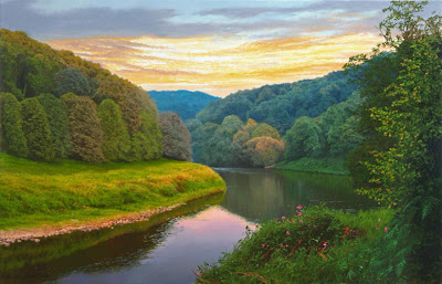 Michael James Smith. Dusk in Wales