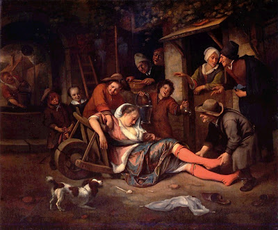 Paintings by Jan Steen