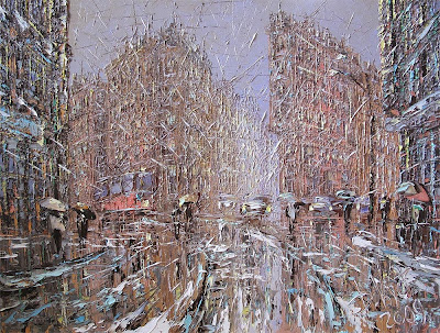 Painting by Dmitry Kustanovich, Russian Artist.