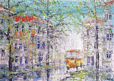 Paintings by Dmitry Kustanovich, Russian Artist.