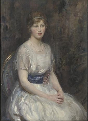 Walter Ernest Webster. Portrait of a Young Lady