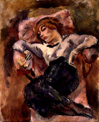 Jules Pascin. Hermine David Sleeping,1916